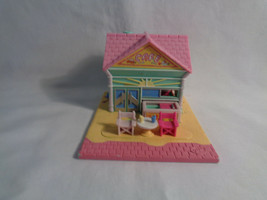 Vintage 1993 Bluebird Polly Pocket Beach Front Cafe Playset - as is - no... - $12.38