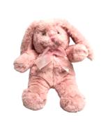 Animal Adventure Pink Rabbit Bunny Plush Easter Soft Fluffy Stuffed Anim... - $19.80