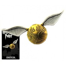 Harry Potter Quidditch Golden Snitch Image Pewter Metal Lapel Pin NEW UN... - $8.79