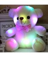 Teddy Bear Led Lighting Animal Light Kids Xmas Gifts Unisex Glowing Stuf... - $9.89