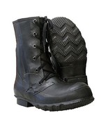 Original Genuine US Army Mlitary Combat Insulated Rubber Mickey Mouse Boots - $25.89