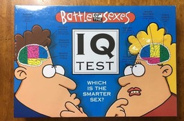 Battles of the Sexes IQ Test which is the smarter sex? board game trivia... - $5.50