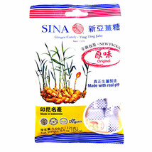 Sina Ginger Chews Candy 4.4 oz ( Pack of 12 ) - $39.59