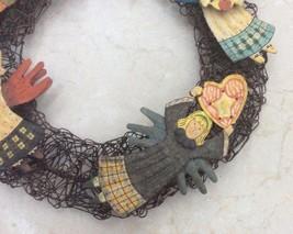 Christmas Metal Wreath Angel's with Star. - $14.95