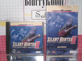 Silent Hunter II (2009) PC WWII Submarine War Game & Manual by Ubisoft - $6.30