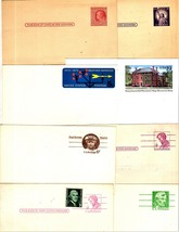 U.S. Stamps - Collectible U.S. Post Cards (Lot of 8 Mint Postcards) - $3.50