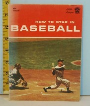 1972 Little League How to Star in Baseball Mickey Mantle Cover 9th Ed. - $15.83