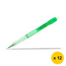 Pilot Super Grip Neon H-187N 0.7mm Mechanical Pencil (12pcs), Green, H-187N-G - $28.99
