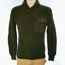 Polo Ralph Lauren Men's Sweater Shawl Green Sz S NWT - $71.97