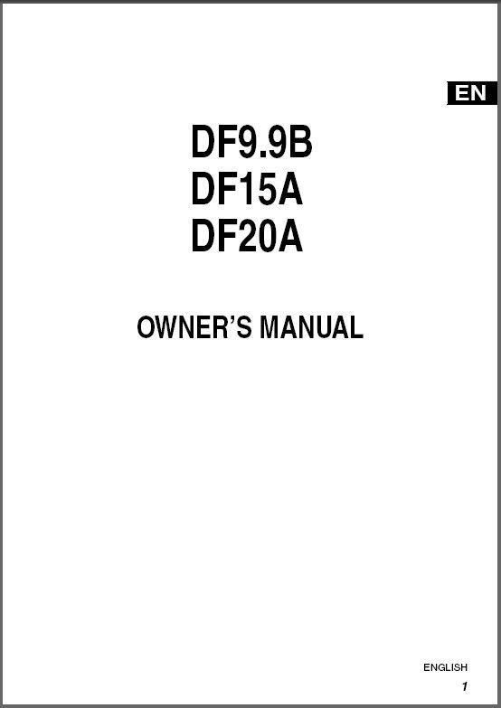 2012-2013-2014-2015 Suzuki DF15A DF20A and 19 similar items on
