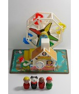 Fisher Price 1966 Musical Ferris Wheel #969  - $42.74