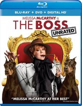 The Boss (Blu-ray/DVD, 2016, 2-Disc Set)