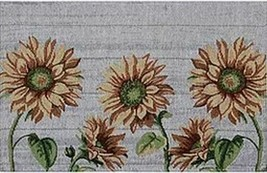 "Set of 4 Same Kitchen Tapestry Placemats, 13"" x 19"", 5 SUNFLOWERS, HC - $21.77"