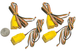 4pc Aurora Turn-Ons Cats Eyes Blazin' Brakes Stop Police! 4-WIRE Controller Plug - $7.91