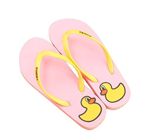 Fashion Summer Item, Lovely Duck Series Flip Flop Beach Casual Sandal, Pink