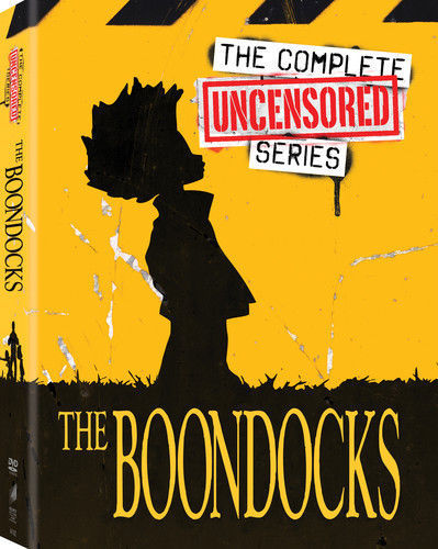The Boondocks Uncensored Complete Series (DVD Box Set) TV Show [New]