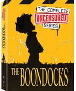 The Boondocks Uncensored Complete Series (DVD Box Set) TV Show [New] - $69.78