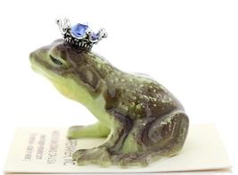 Hagen-Renaker Miniature Frog Prince Kissing Birthstone 09 September Sapphire image 4