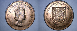 1960 Jersey 1/12 Shilling World Coin - 300th Anniversary Charles II - $8.99
