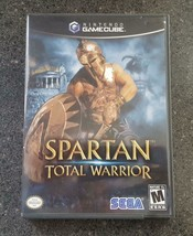 Spartan Total Warrior (Nintendo GameCube, 2005) Complete w/ Game, Manual... - $18.00