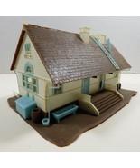 VTG TYCO HO SCALE RAILROAD CITY SCHOOL HOUSE BUILDING - $24.75