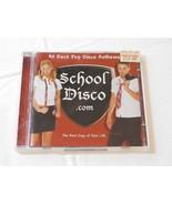 School Disco.com by Various Artists CD 40 Rock Pop Disco Anthems 2001 2 ... - $16.33