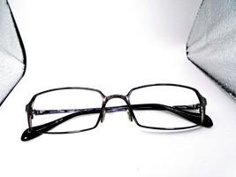 Oliver Peoples BECQUE CH Charcoal 53-17-137 Titanium 100 Eyeglasses Fram... - $29.49