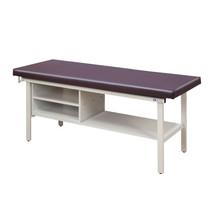 Clinton Treatment Table w/Shelving 30in Slate Blue - $1,172.11