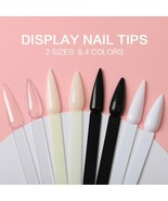 Nails 40pcs/lot 2 Size 4 Colors False Display Tips Stiletto Faux Ongles ... - $4.12