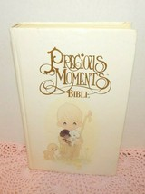 Precious Moments Bible - King James - Child's Edition - White Hardcover - 1985 - $19.75