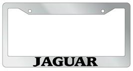 Chrome METAL License Plate Frame JAGUAR Auto Accessory 1641 - $13.99