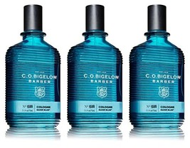 C.O. Bigelow Barber Elixir Blue No.1580 Cologne 2.5 oz / 75 ml (Lot of 3) - $167.99