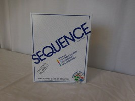 Jax Sequence Original Sequence Game with Folding Board Cards and Chips by Jax - $16.85