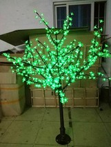 5 FT 480 pcs LED Cherry Blossom Tree Green LIGHT Wedding Christmas party decor - $299.00