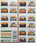 USPS 'Delicioso' 2016 Stamp Sheet of 20 Forever Stamps, New - $15.95