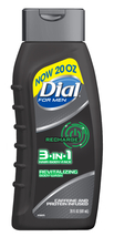 Dial For Men Body Wash, 3-in-1 Recharge, 20 Ounce - $8.49