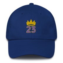 King James hat / King 23 hat / 3d embroidery / basketball hat /23 Cotton Cap  image 3