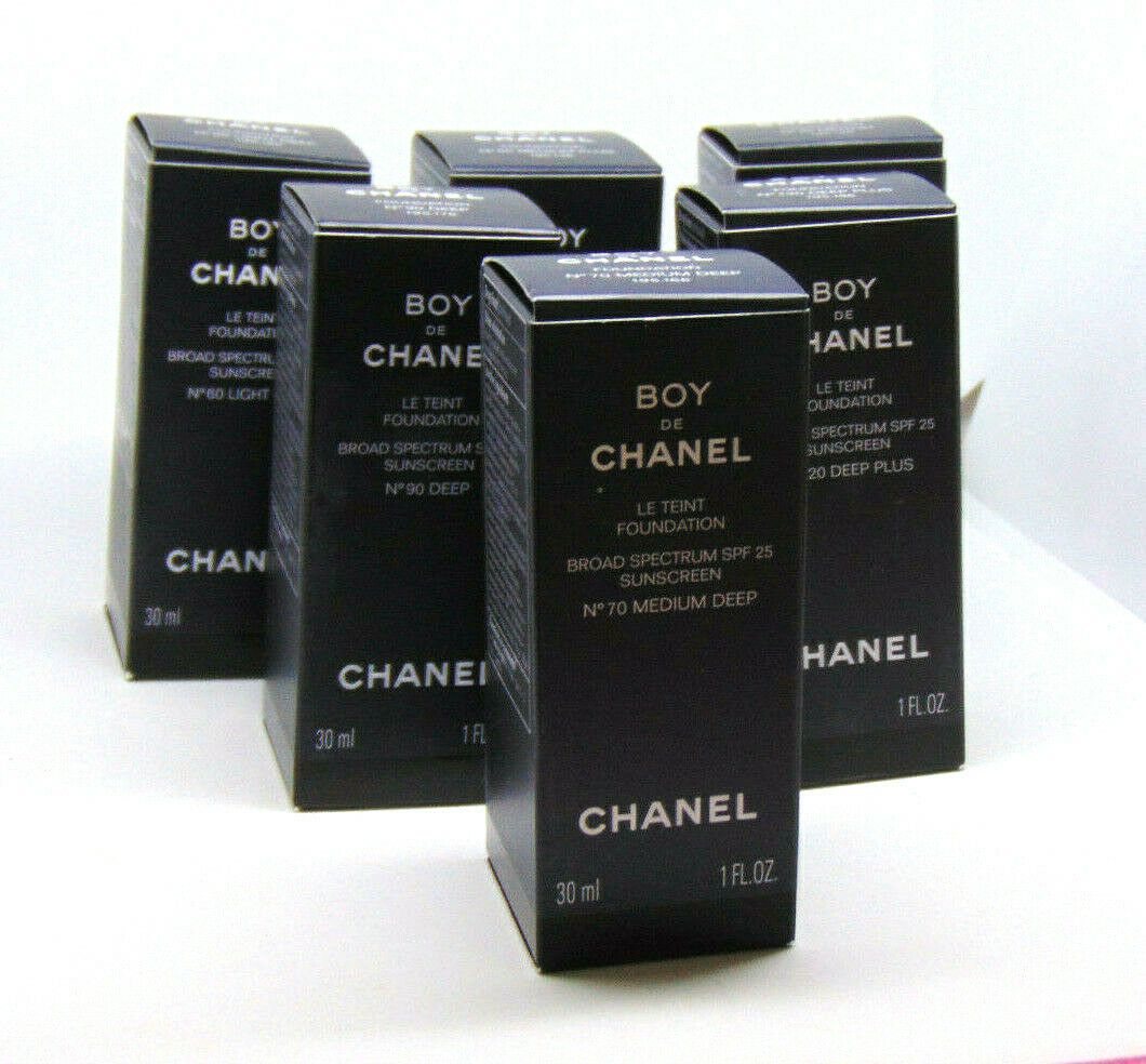 Primary image for CHANEL BOY de CHANEL Le Teint Foundation 1.0oz/30ml  Choose Shade
