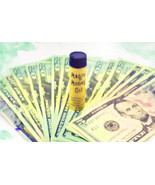 Haunted WITCH'S PURSE MONEY MAGNET DRAWING OIL MAGICK WITCH CASSIA4 - $23.00