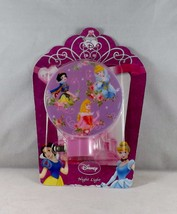 Disney Princess Night Light with On/Off Switch -New- Snow, Rapunzel & Ci... - $5.69