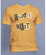 Thank U, Next Pop art ariana grande Men Tee / T-shirt S to 3XL Gold - $20.00+