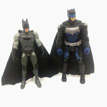 "2 Mattel DC Comics Batman Action Figures 5.5"" Tall & 6"" Tall - $14.01"
