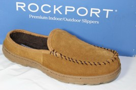 ROCKPORT SLIP ON CLOG MEN'S SLIPPER, SIZE 8.5-9, TAN, 71RQ670001 - $39.99