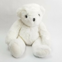 "Vintage White Vermont Jointed Teddy Bear 13"" 1984 Stuffed Plush Stuffed ... - $12.82"