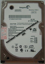 "NEW ST980821A Seagate 80GB 7200RPM IDE 44PIN 2.5"" Hard Drive Free USA Shipping"