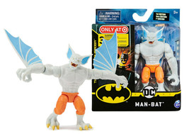 """The Caped Crusader White Man-bat 4"""" Action Figure with 3 Mystery Accesso... - $19.88"""