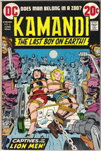 Kamandi, The Last Boy On Earth Comic Book #6 DC Comics 1973 FINE+ - $12.59