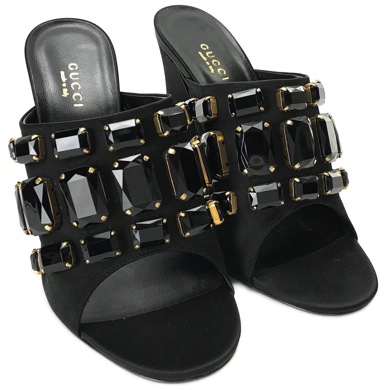 072446c57e5 GUCCI 408307 Tessa Satin Sandals with and 50 similar items