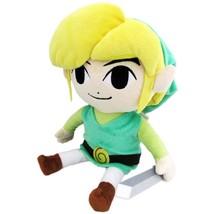 The Legend Of Zelda Link Plush Doll Green - $20.98