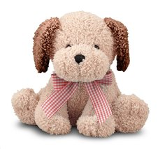 Melissa & Doug - Meadow Medley Golden Puppy Stuffed Animal Dog With Bark... - $16.99